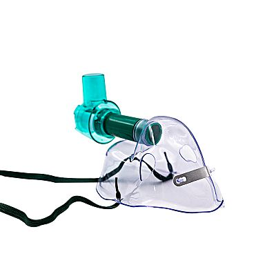 Adjustable Venturi Mask With Two Diluters